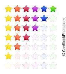 ставка, число звезд: