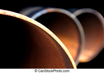 стали, труба, абстрактные