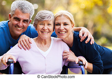 старшая, возраст, пара, середине, мама