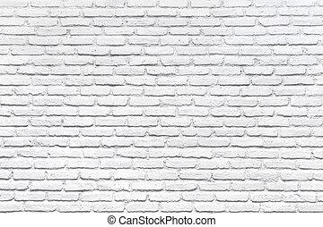 стена, белый, кирпич, задний план