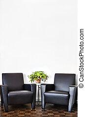 стена, интерьер, белый, современное, комната
