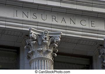 столб, страхование