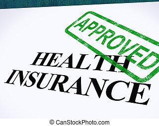 страхование, форма, успешный, показ, утвержденный, заявление, здоровье, медицинская