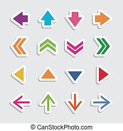 стрела, icons