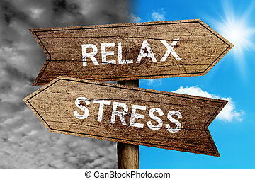 стресс, или, расслабиться