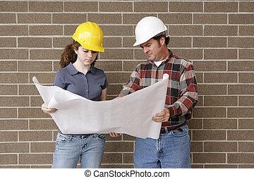 строительство, команда, blueprints
