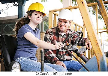 строительство, профессиональное, обучение