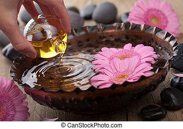 существенный, ароматерапия, масло