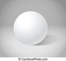 сфера, белый, место действия, серый
