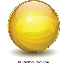 сфера, золото