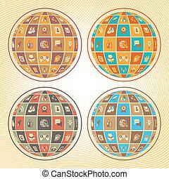 сфера, сетей, социальное