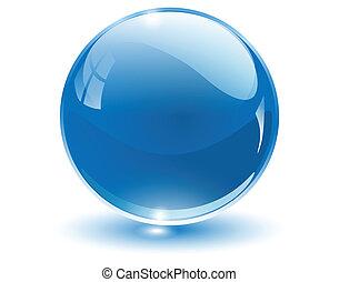 сфера, 3d, кристалл