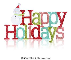 счастливый, знак, holidays