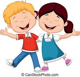 счастливый, мультфильм, children