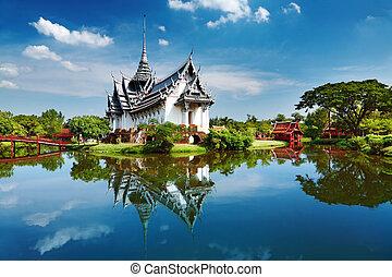 таиланд, prasat, дворец, sanphet