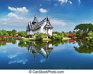 таиланд, sanphet, prasat, дворец