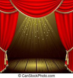 театр, сцена
