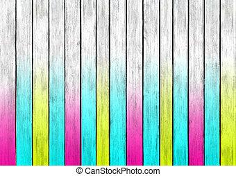 текстура, многоцветный, дерево, дизайн, поверхность, panels