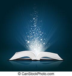 текст, белый, книга, открытый, идея