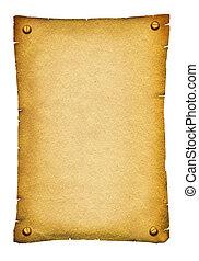 текст, бумага, античный, старый, задний план, свиток, texture., белый