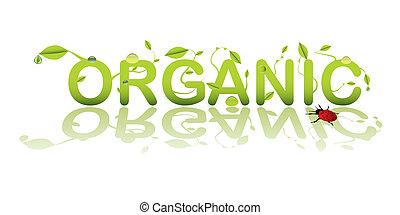 текст, органический
