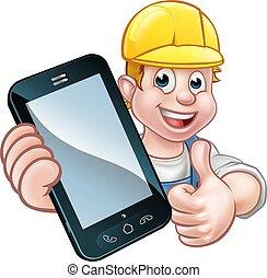 телефон, или, концепция, механик, мастер на все руки