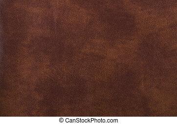 темно, кожа, текстура, коричневый