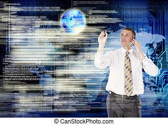 технологии, интернет, глобализация