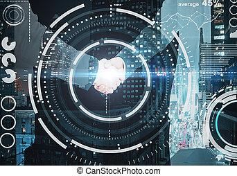 технологии, концепция, бизнес