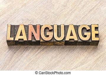 тип, дерево, слово, типографской, язык