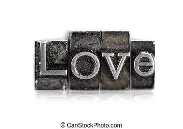 "тип, ""love"", слово, типографской"