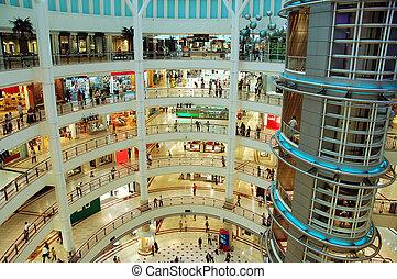 торговый центр, поход по магазинам