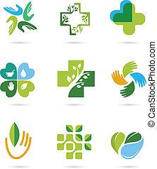травяной, лекарственное средство, альтернатива, натуральный, icons