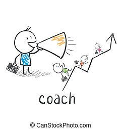 тренер, тренер, бизнес