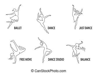тренер, web, красочный, люди, танец, абстрактные, спорт, гимнастический зал, бег, вектор, фитнес, активный, логотип, design., logo., символ, значок