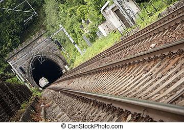 туннель, портал