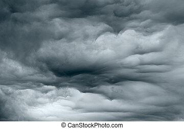 тяжелый, штормовой ветер