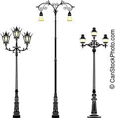 улица, lamps