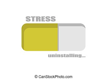 уровень, концептуальный, стресс, метр