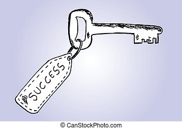 успех, ключ