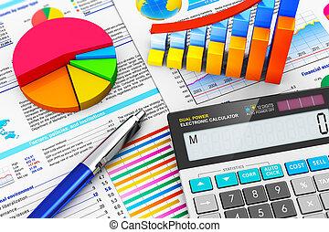 учет, концепция, финансы, бизнес