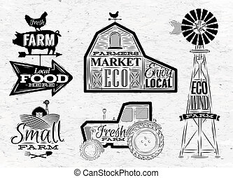 ферма, марочный