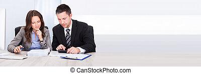 финансы, businesspeople, расчета