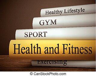 фитнес, книга, здоровье, заглавие