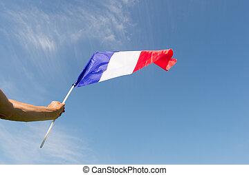 флаг, французский