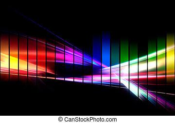 форма волны, графический, аудио