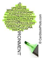 форма, концепция, дерево, экология