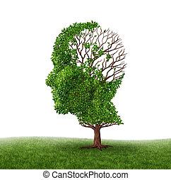 функция, головной мозг, потеря