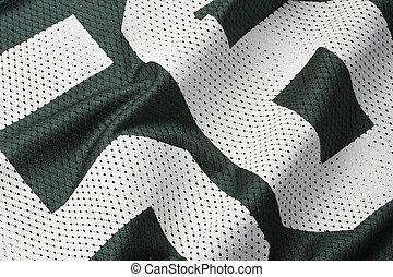 футбол, зеленый, джерси