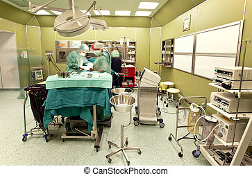 хирургия, операционная, комната
